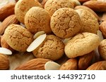 Sweet Almond Cookies Biscuits ...