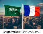 relationship between saudi... | Shutterstock . vector #1443930593