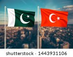 relationship between pakistan... | Shutterstock . vector #1443931106