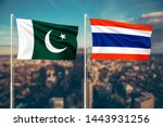 relationship between pakistan... | Shutterstock . vector #1443931256