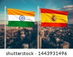 relationship between india and... | Shutterstock . vector #1443931496