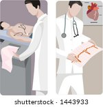 a set of 2 medical... | Shutterstock .eps vector #1443933