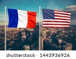 relationship between france and ... | Shutterstock . vector #1443936926