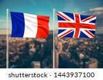 relationship between france and ... | Shutterstock . vector #1443937100