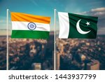 relationship between india and... | Shutterstock . vector #1443937799