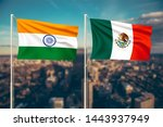 relationship between india and... | Shutterstock . vector #1443937949