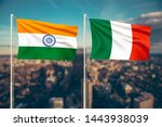 relationship between india and... | Shutterstock . vector #1443938039
