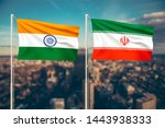 relationship between india and... | Shutterstock . vector #1443938333