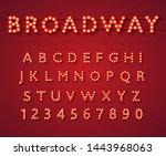 Light Bulb Alphabet In Broadway ...