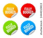 fully booked note papers set...   Shutterstock .eps vector #1444010813