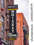 The Whiskey Row In Nashville  ...