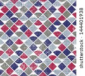 abstract mosaic retro seamless... | Shutterstock .eps vector #144401938