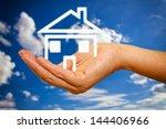 house in hand | Shutterstock . vector #144406966