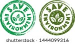 save environment stamps in... | Shutterstock .eps vector #1444099316