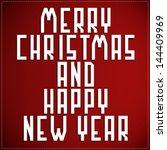 happy new year | Shutterstock .eps vector #144409969