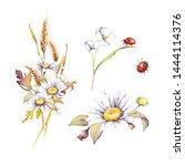 Watercolor Botanical Bouquets...