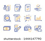 idea  checkbox and feather...   Shutterstock .eps vector #1444147790