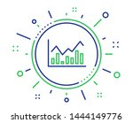 financial chart line icon.... | Shutterstock .eps vector #1444149776