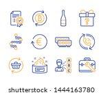 refresh cart  timeline and... | Shutterstock .eps vector #1444163780