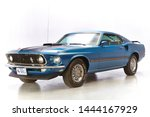 1969 Mach1 Ford Mustang In Blue....