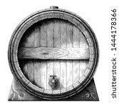 antique engraving illustration... | Shutterstock .eps vector #1444178366