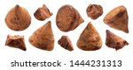 chocolate truffle candies whole ... | Shutterstock . vector #1444231313