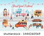 street food festival poster... | Shutterstock .eps vector #1444260569