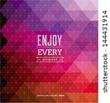 spectrum geometric background | Shutterstock .eps vector #144431914