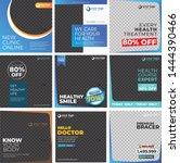 social media design templates   ...   Shutterstock .eps vector #1444390466