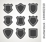 security shield icon. template... | Shutterstock .eps vector #1444402310