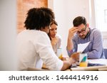struggling with occupational... | Shutterstock . vector #1444414916