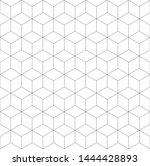 seamless geometric pattern.... | Shutterstock .eps vector #1444428893