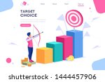 marketing moving up path....   Shutterstock . vector #1444457906