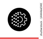 digital transformation vector...   Shutterstock .eps vector #1444466540