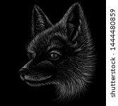 The Vector Logo Fox Print For ...