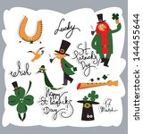 st. patrick's day | Shutterstock .eps vector #144455644
