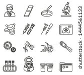 medical lab  clinical...   Shutterstock .eps vector #1444561133