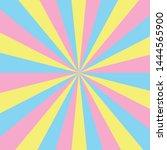 colorful pastel sunburst vector ...   Shutterstock .eps vector #1444565900