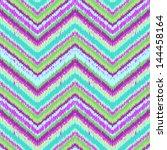 ethnic zigzag pattern in retro...   Shutterstock .eps vector #144458164
