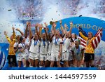 usa players celebrate after... | Shutterstock . vector #1444597559