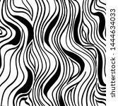 grunge brush pattern. texture.... | Shutterstock .eps vector #1444634033