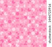 segments of circles. vector... | Shutterstock .eps vector #1444723916