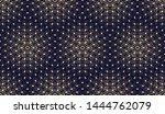 abstract geometric pattern.... | Shutterstock . vector #1444762079