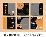 social media banner template... | Shutterstock .eps vector #1444763969