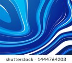 abstract wave blue water... | Shutterstock .eps vector #1444764203
