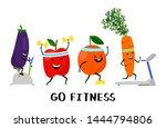 go fitness vector concept....   Shutterstock .eps vector #1444794806