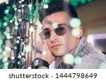 handsome stylish man in...   Shutterstock . vector #1444798649