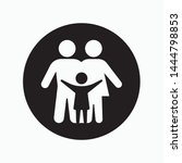 family icon. flat illustration...   Shutterstock .eps vector #1444798853