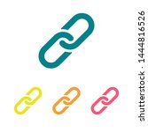 chain  link icon vector. link...   Shutterstock .eps vector #1444816526