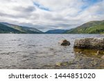 loch earn with hills in the... | Shutterstock . vector #1444851020
